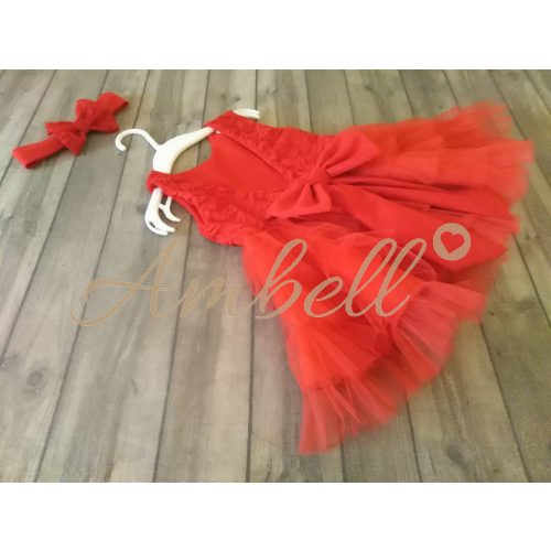 Ambell piros alkalmi ruha