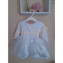 Ambell  csipkés fehér ruha
