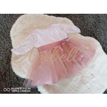 Ambell fehér és púder színű alkalmi ruha
