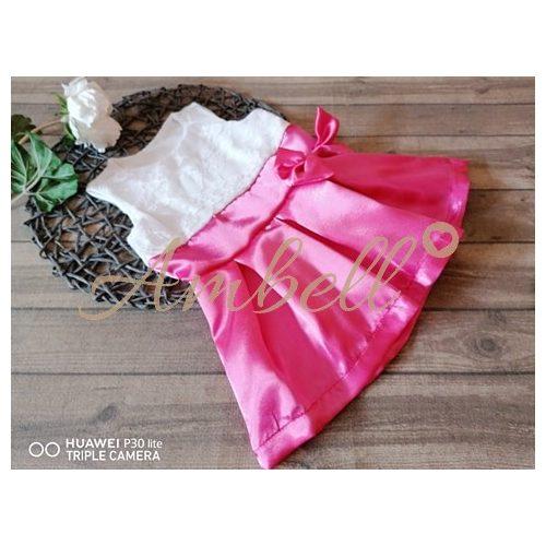 Ambell csipke /szatén ruha