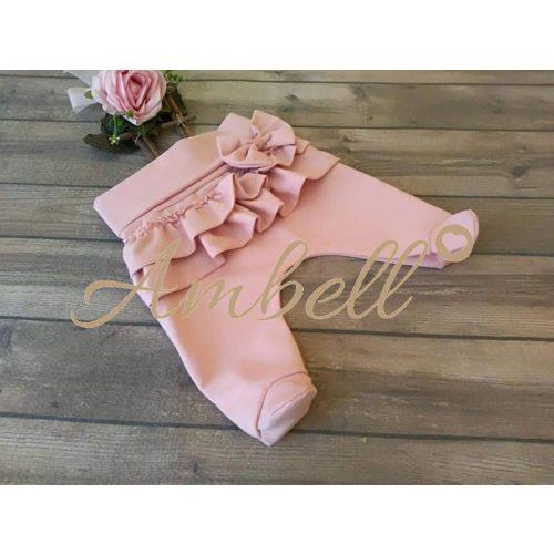 Ambell púder színű talpas nadrág